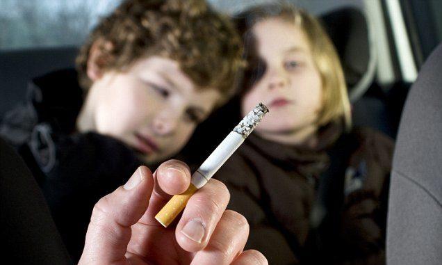 παθητικό κάπνιμα - επιπτώσεις στα παιδιά
